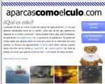 www.aparcascomoelculo.com